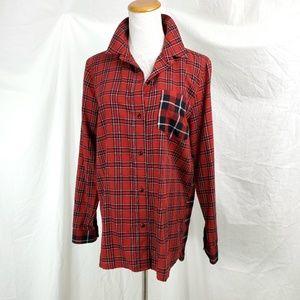 Madewell S Classic Ex Boyfriend Plaid Button Shirt